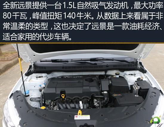 [潍坊汽车网]作为吉利轿车三大主力之一的远景,在10月份之中销量达到了11571台,位居第四,这已经是一个很好的成绩了,虽然吉利没能拿下自主紧凑型车销量的冠军,但第二、三、四名都被收入囊中,远景在自主品牌的入门级紧凑型车中也是销量最高的。即使是入门级别的车型,在品控方面也毫不含糊,下面我们就一起来了解一下,全新远景有哪方面的优点和缺点。  外观:更加年轻时尚化 全新远景在外观上进行了多处改变,整体效果也变得更加时尚年轻。在保持了吉利家族化的外观的同时,对许多细节之处进行了优化,让远景看上去变得更加精致。