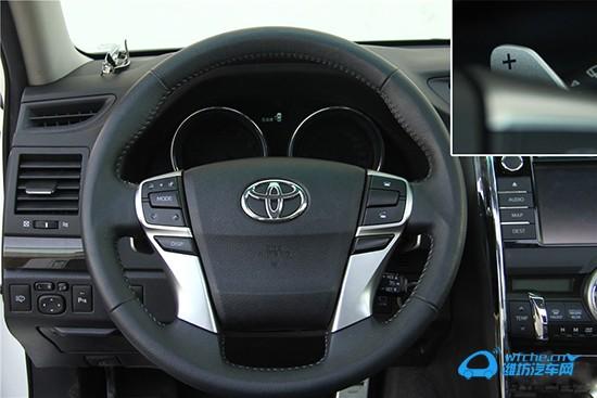 丰田车按键图解